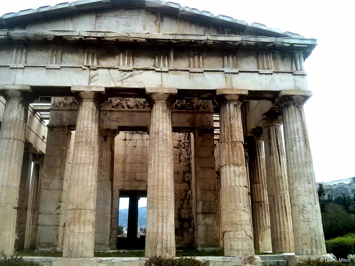Glorious Ancient Agora Temple, Athens, Greece