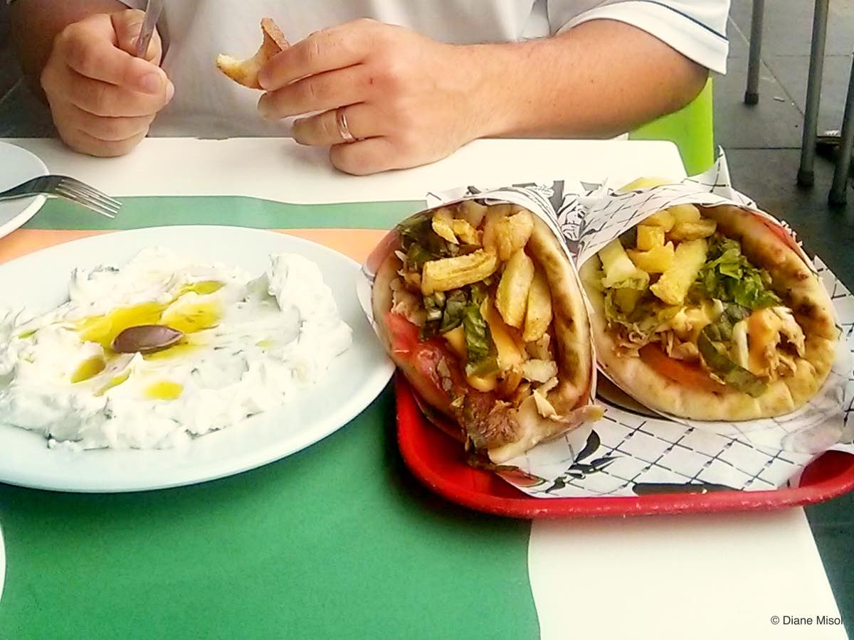 Gyro and Yoghurt, Athens, Greece