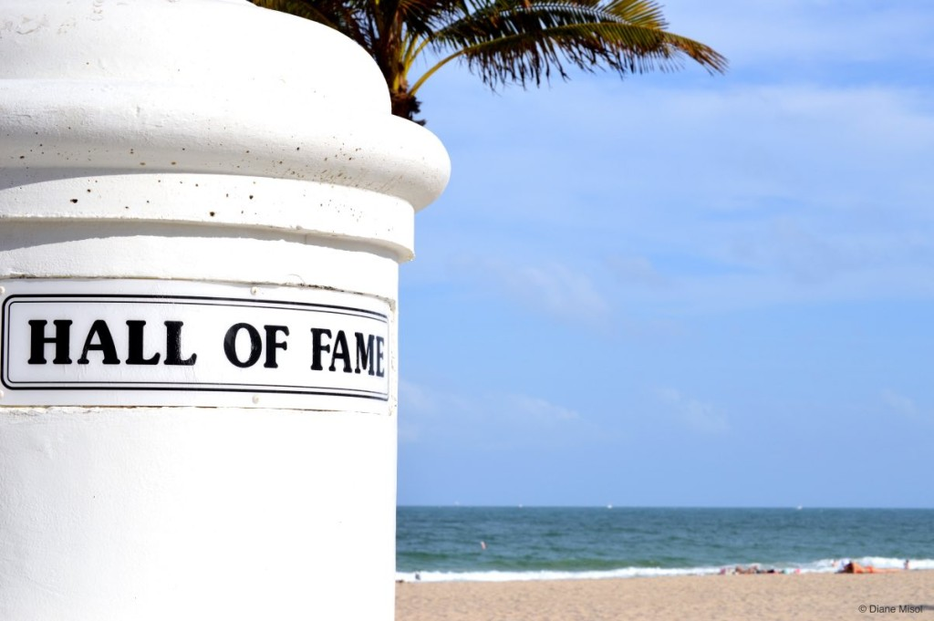 Hall of Fame Marker, Fort Lauderdale Beach