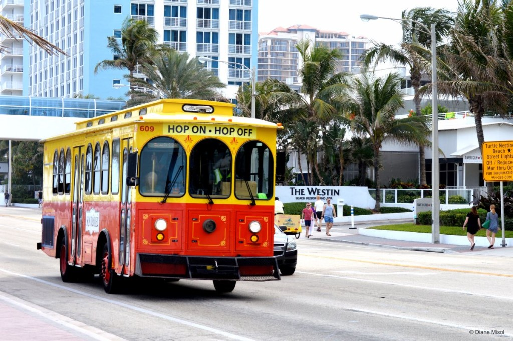 Hop On Trolly, Ft Lauderdale, Florida USA