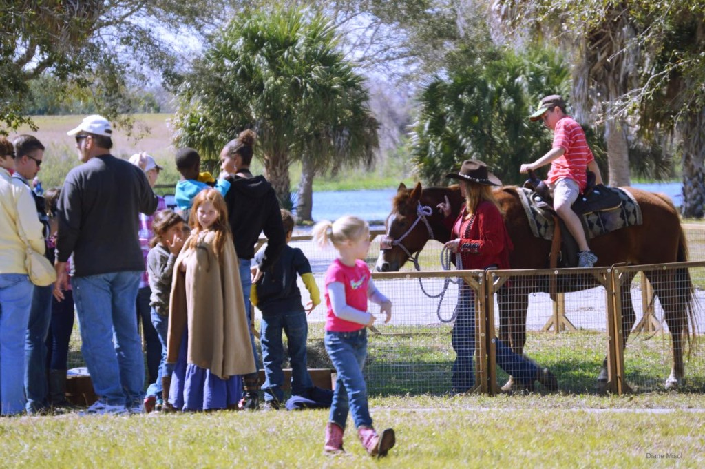 Horse Rides for the Children, Battle of Okeechobee Weekend