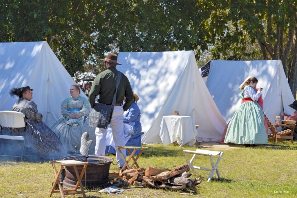 Camp Bustle, Battle of Okeechobee, Florida