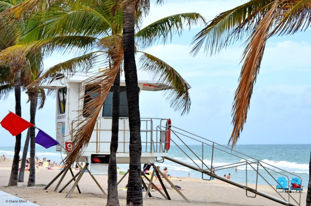 Lifeguard Stand, Fort Lauderdale Beach, Florida, USA