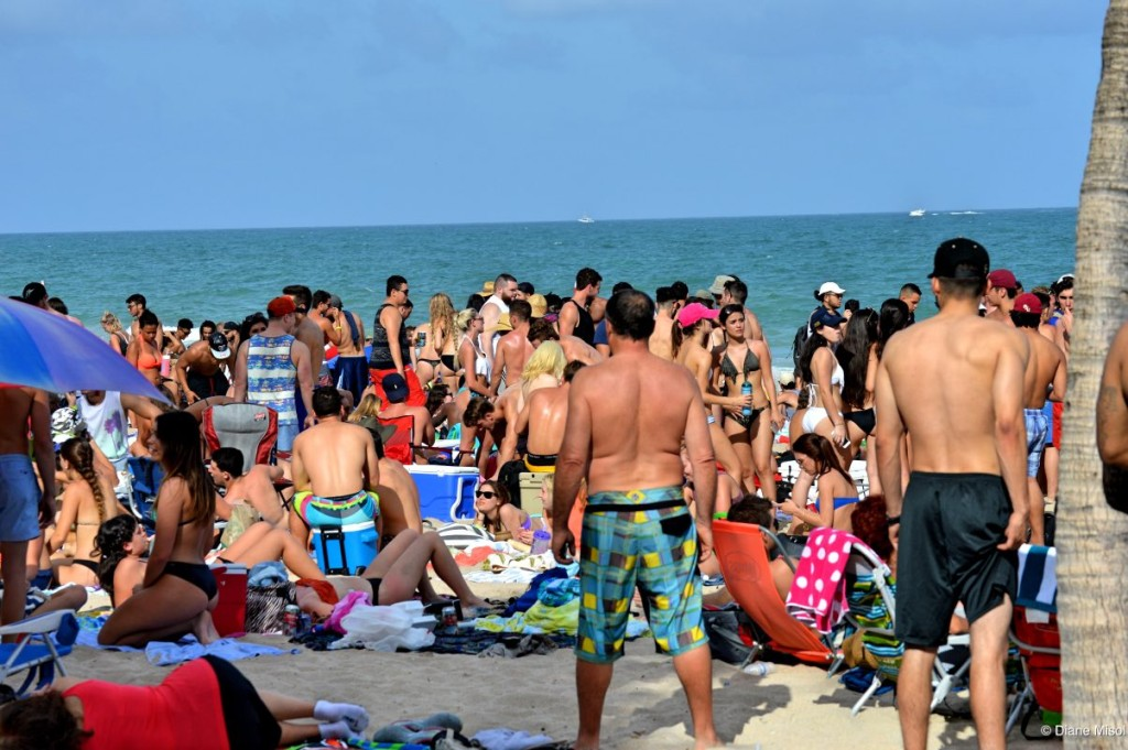 March Break Party, Fort Lauderdale Beach, Florida, USA