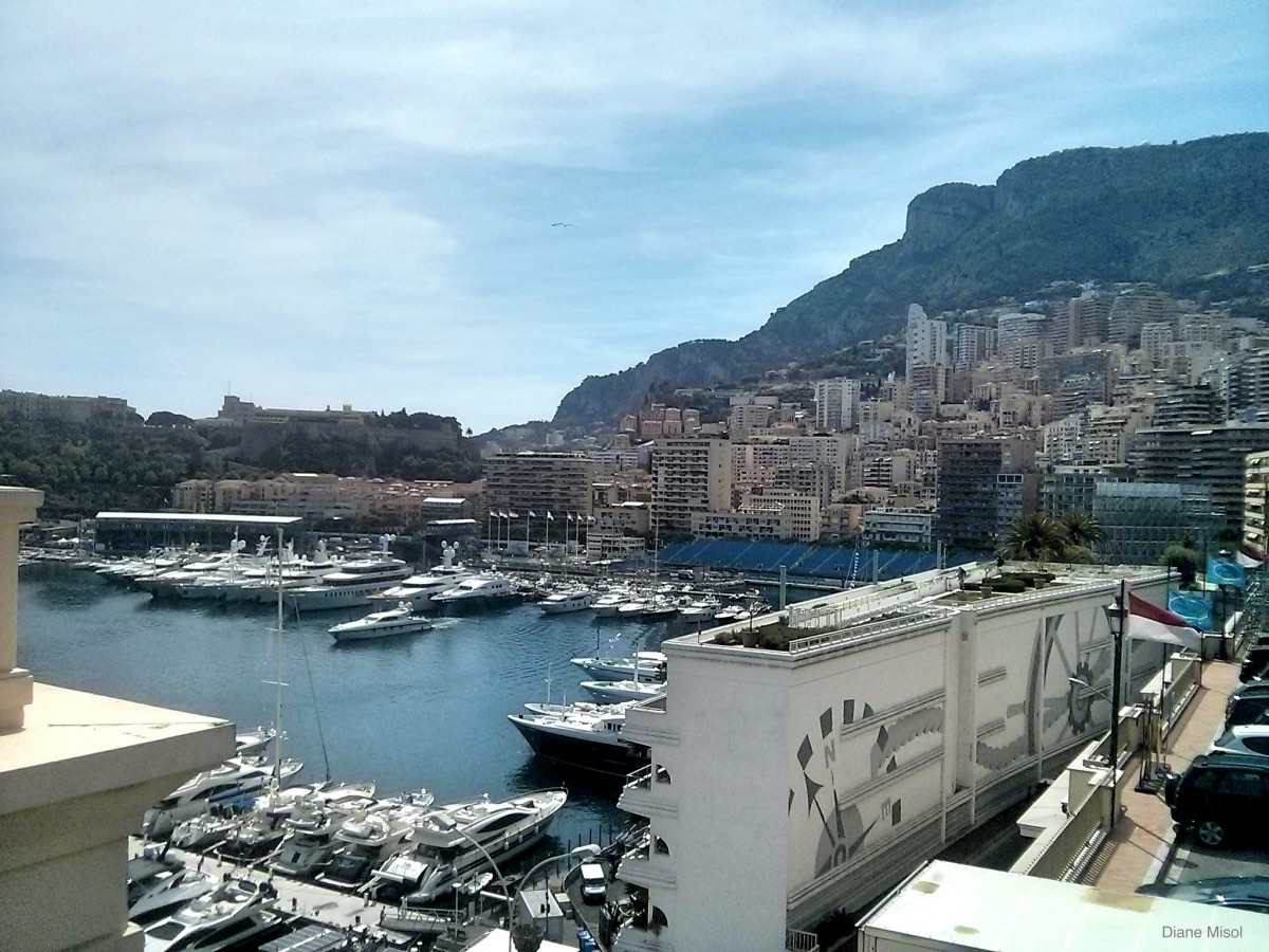Monte Carlo Yachts and City View