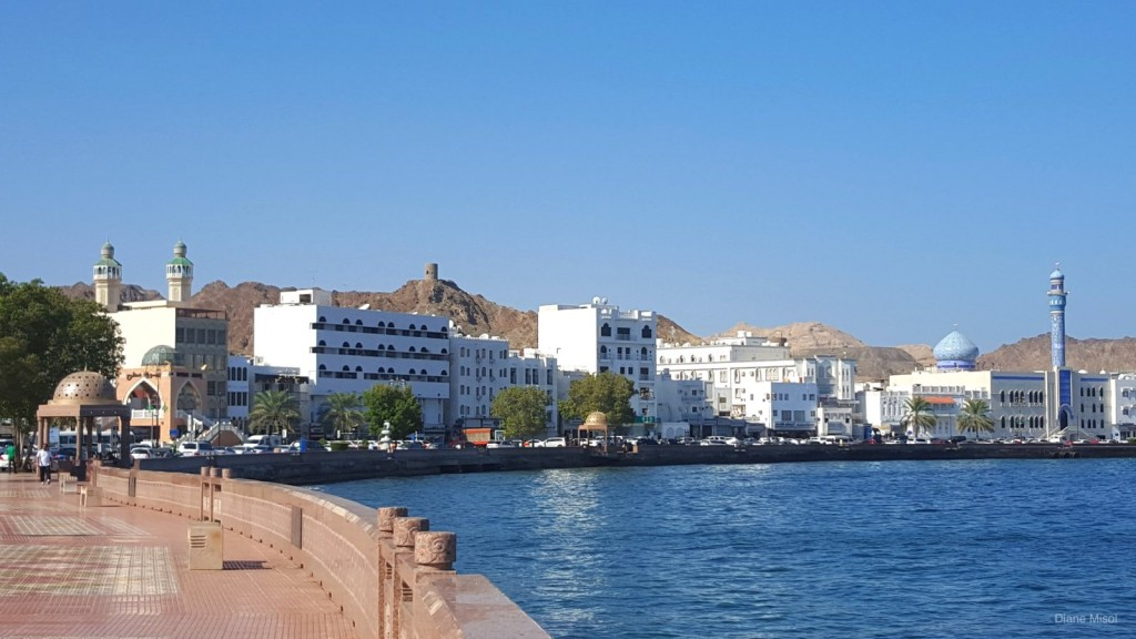 Peaceful Muscat Waterfront, Oman