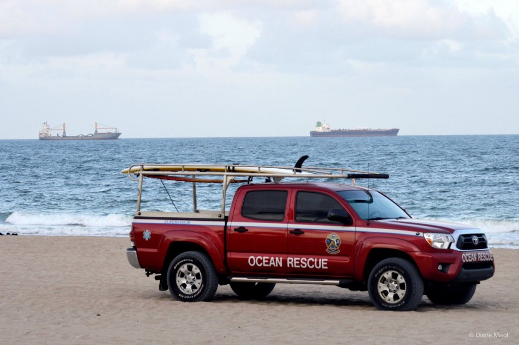 Ocean Rescue Truck, Fort Lauderdale Beach Florida