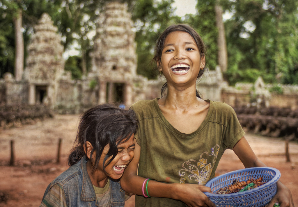 Beautiful faces of Cambodia!