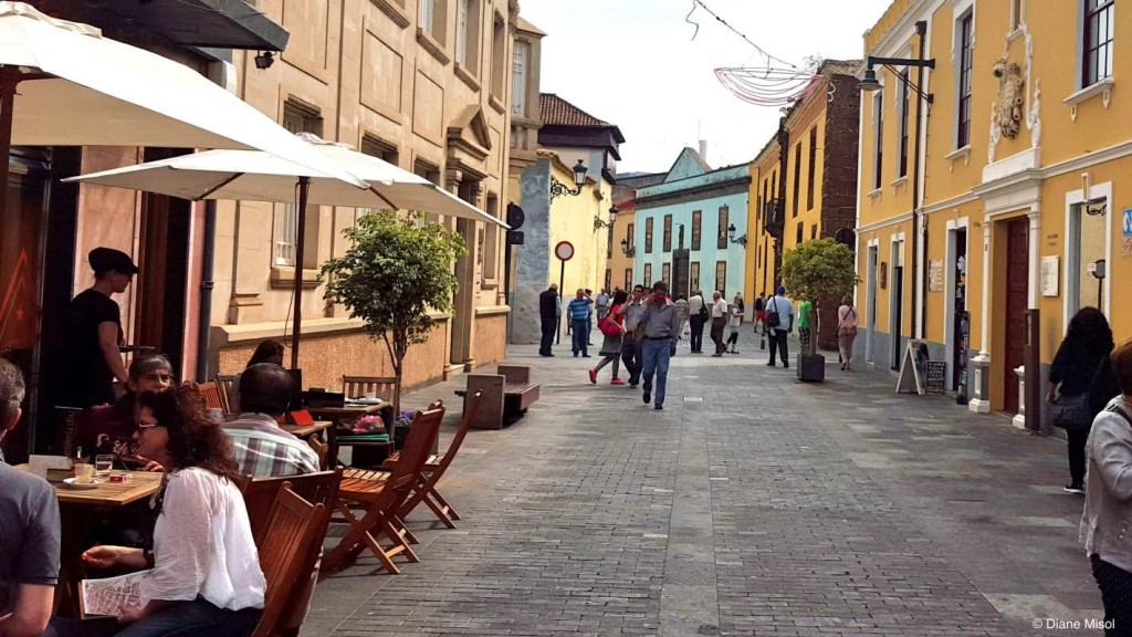 Pedestrian Street, Santa Cruz, Tenerife, Canary Islands