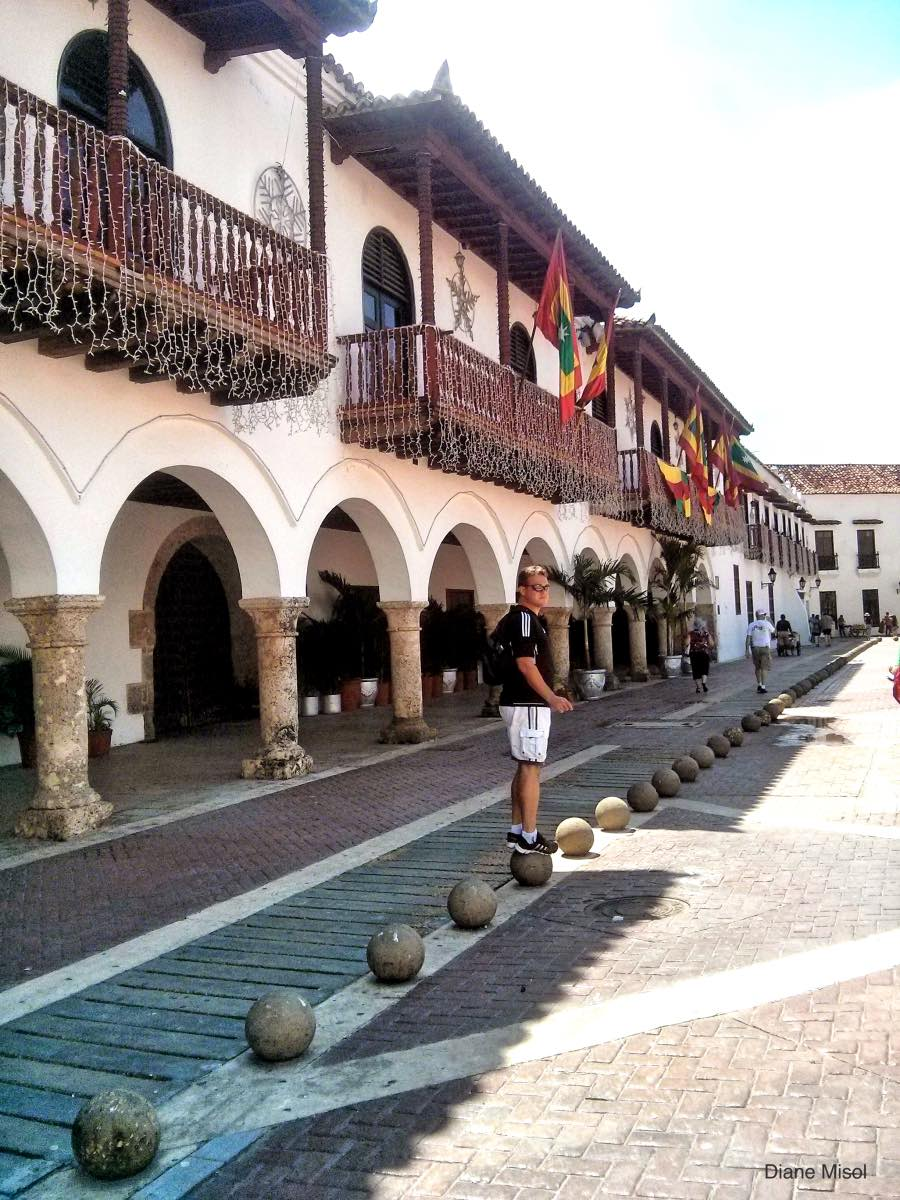 Plaza - Old Town Cartagena, Colombia