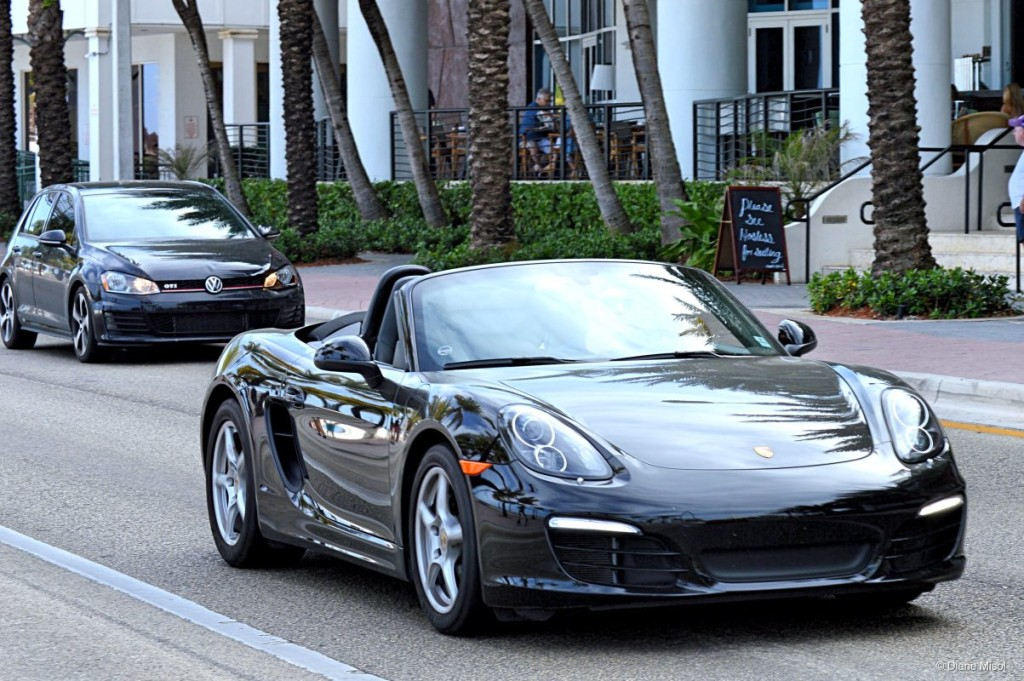 Porsche, Fort Lauderdale Beach, Florida USA
