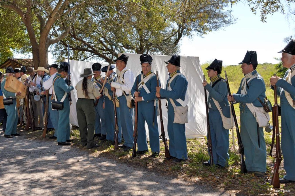 Preparation for the Re-enactment Battle of Okeechobee