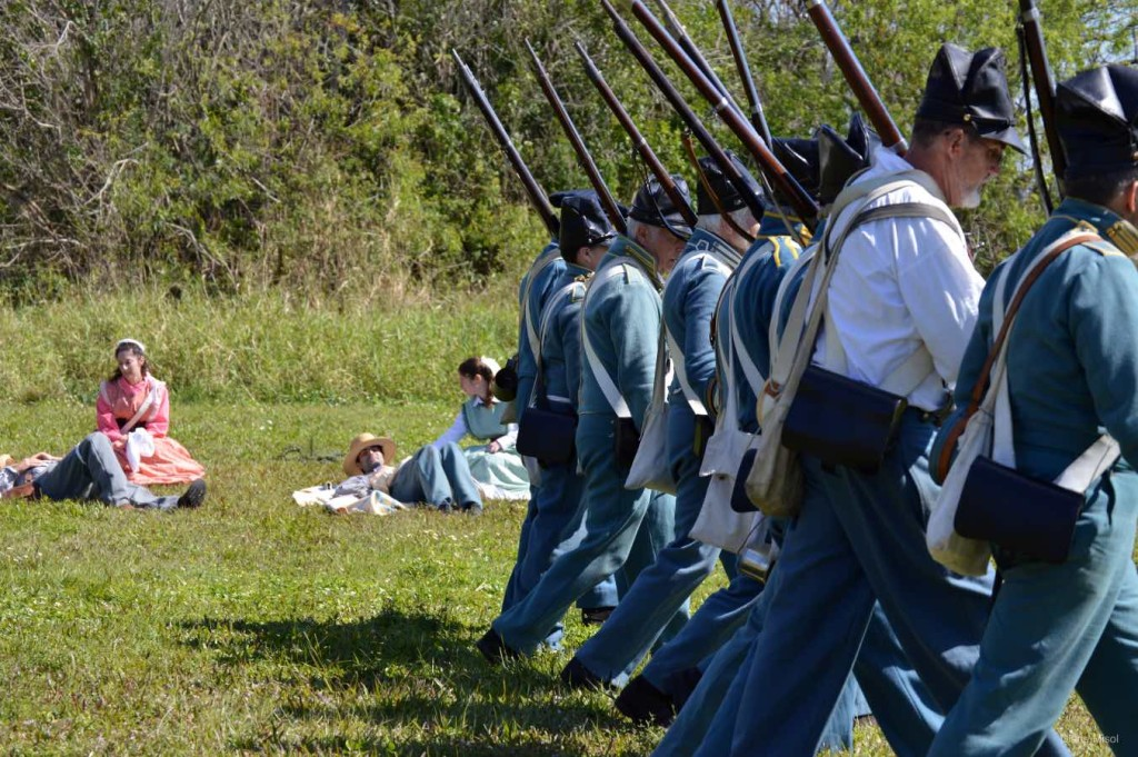 Reinforcement second line, Battle Of Okeechobee