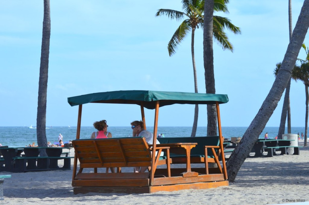 Rocking Tables, Fort Lauderdale Beach Park, Florida