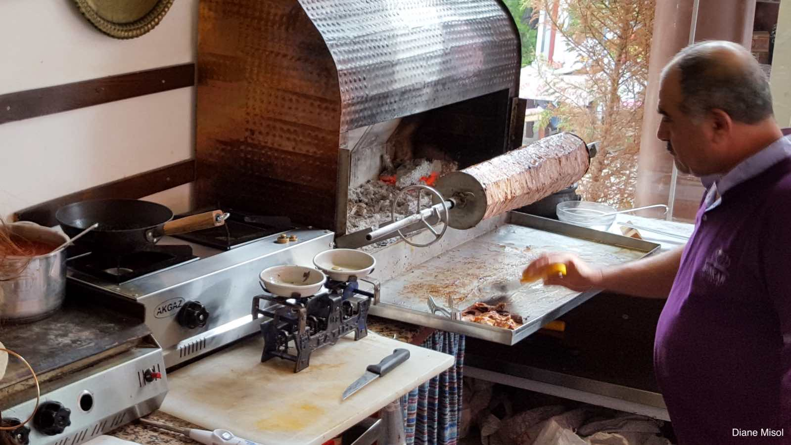 Rotisserie of Meat and Hot Coals, Kas, Turkey