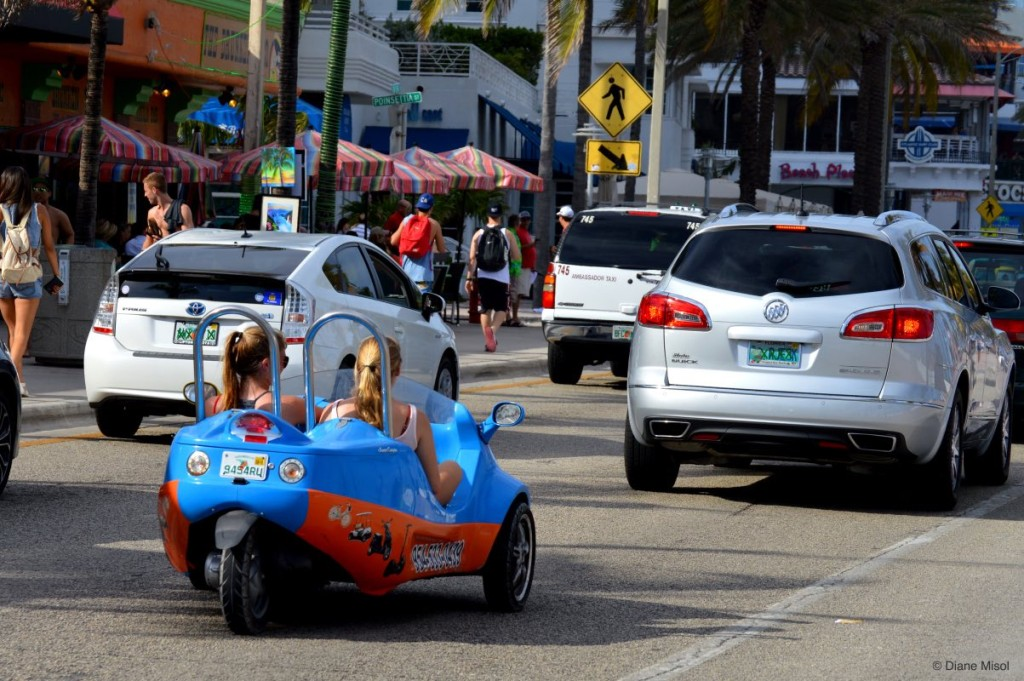 Scoot Coupe, Fort Lauderdale Beach, Florida, USA