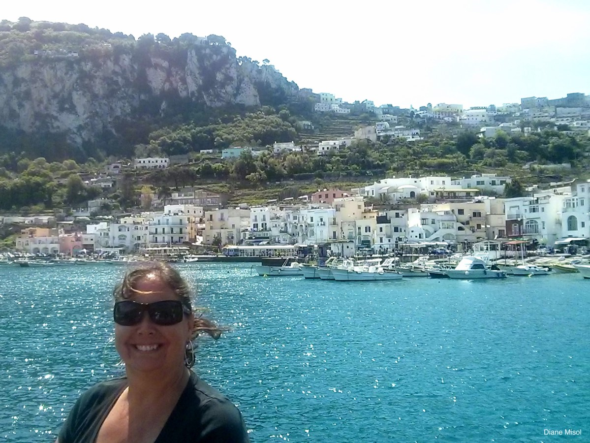 Shoreline of Capri, Italy