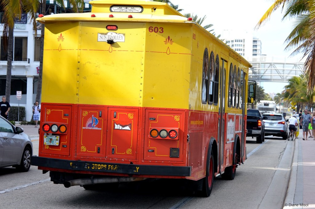 Sun Trolley, Fort Lauderdale, Florida, USA