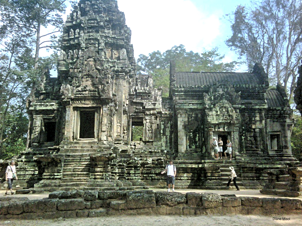 Temple in Angkor Archaeological Park, Cambodia