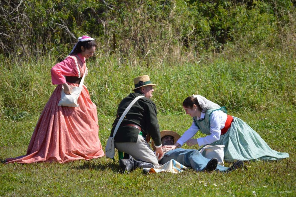 Tending the Injured Battle Of Okeechobee Florida