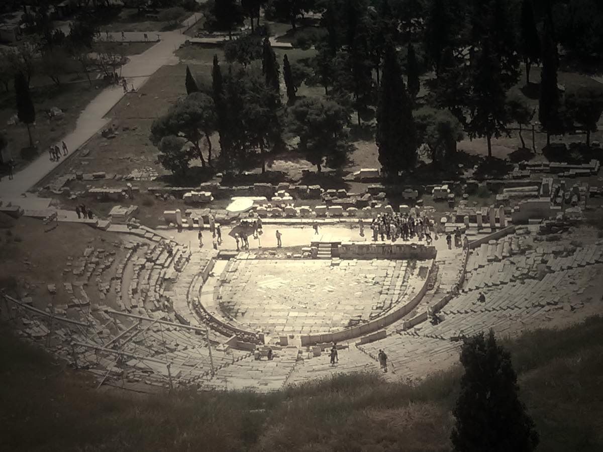 Theatre of Dionysis, Athens, Greece