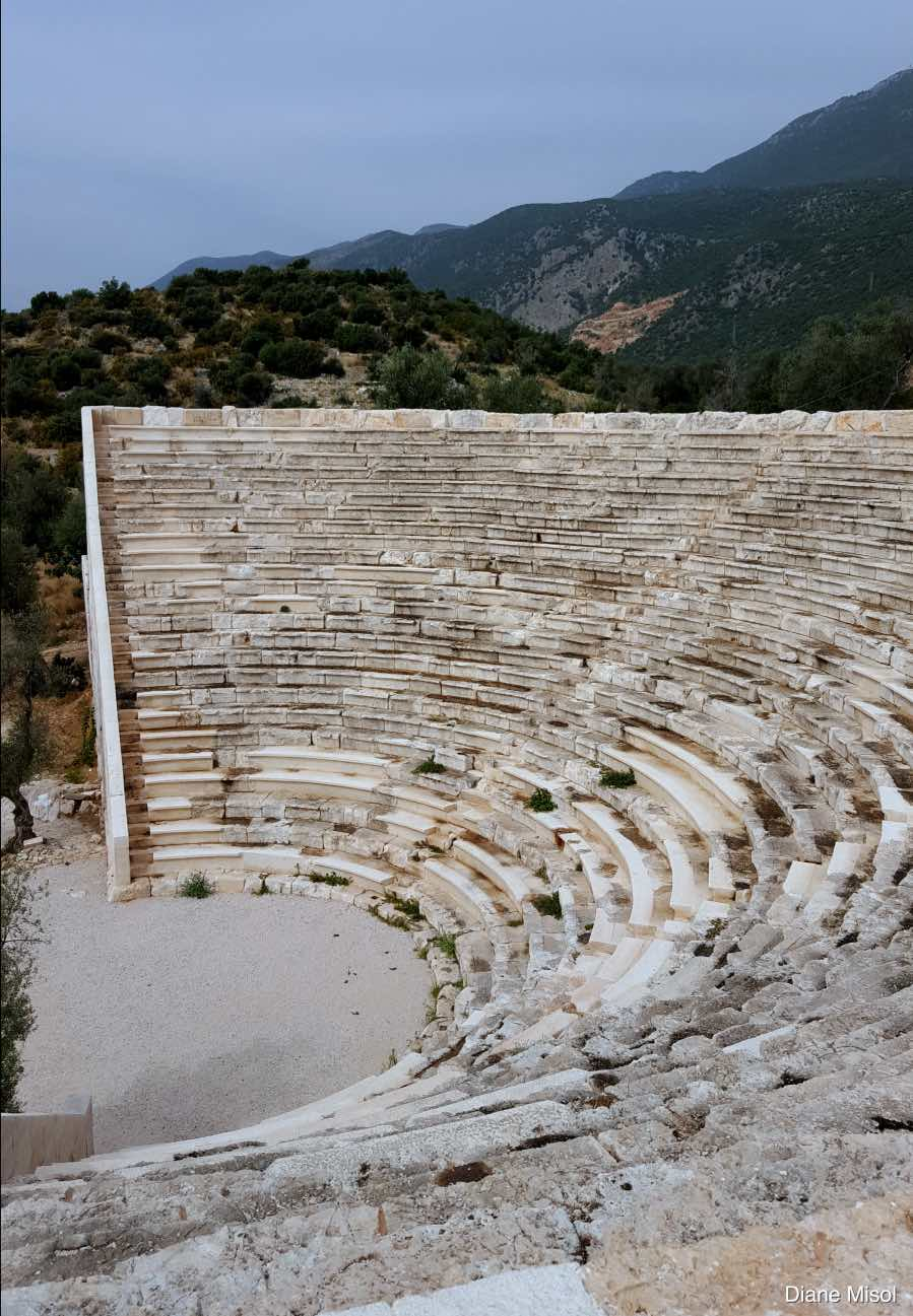 Top of Amphitheater Kas Turkey