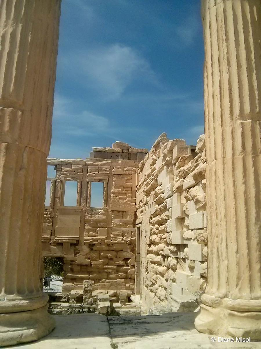 Up Close and Personal at the Parthenon, Athens, Greece