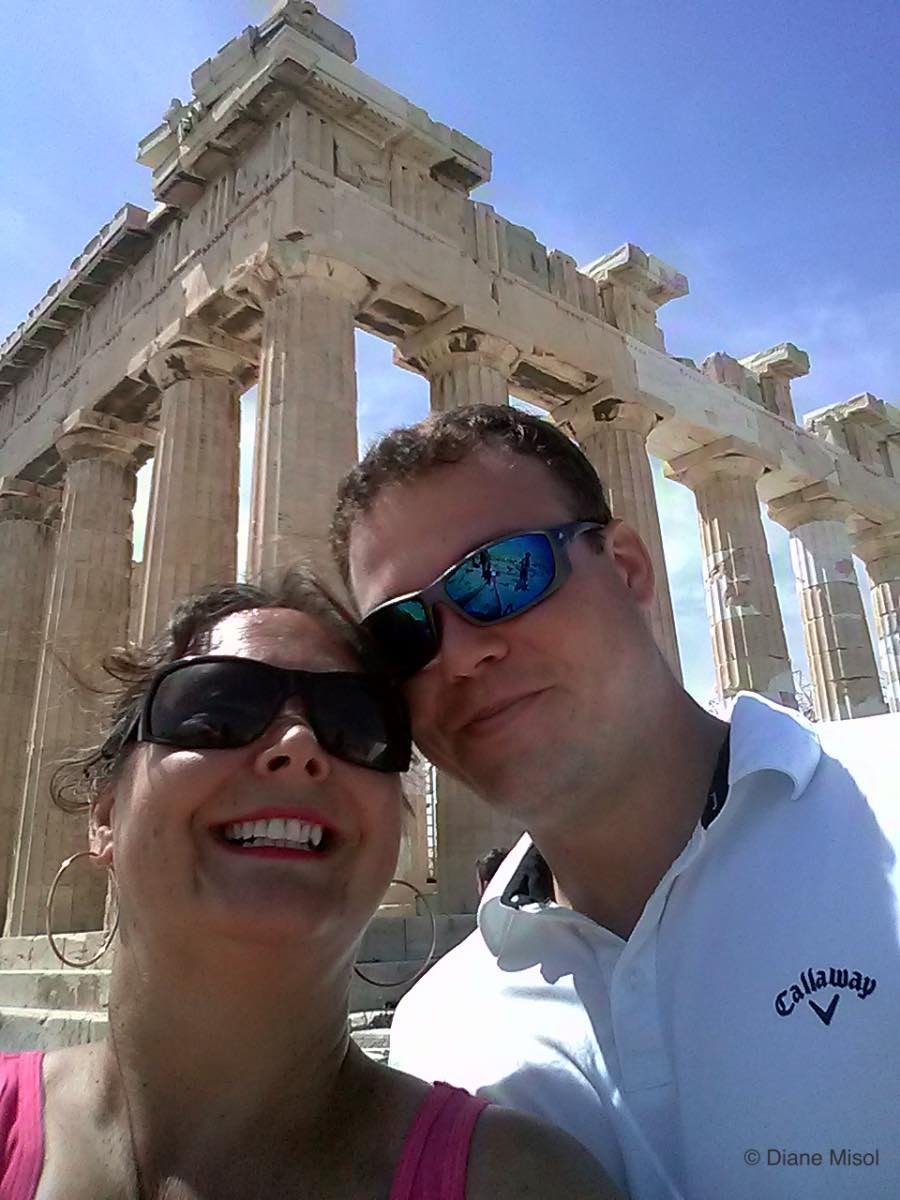 Selfie! Parthenon, Athens, Greece