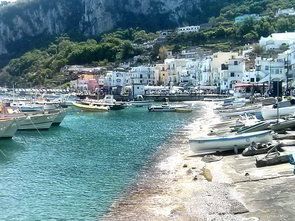 Waterfront, Port of Capri, Italy
