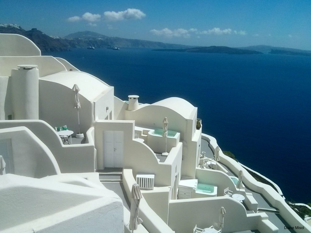 White against Blue, Santorini, Greece