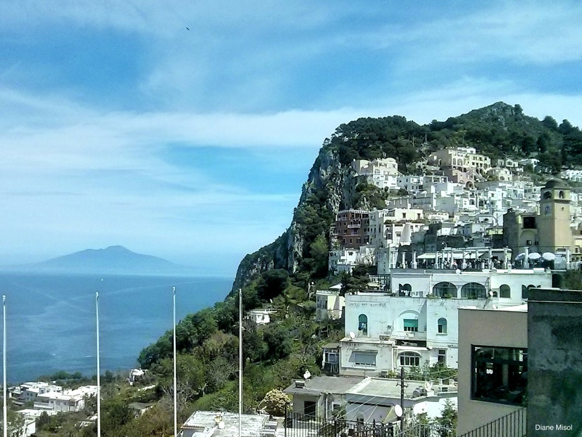 The White Houses of Capri, Italy