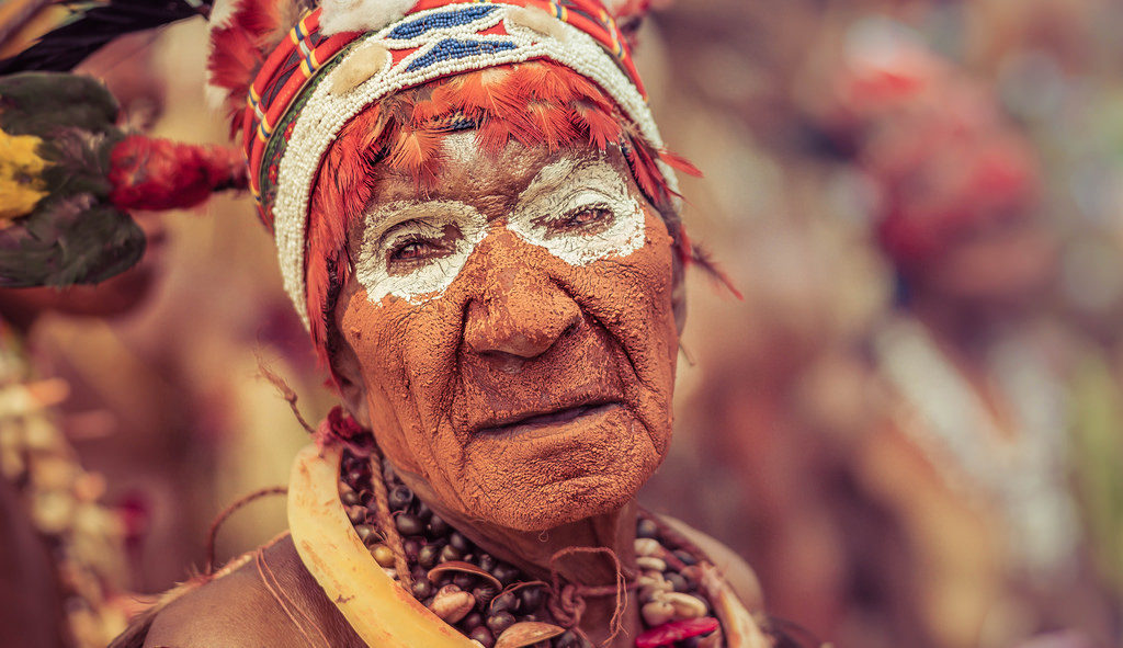 People Of Papua New Guinea