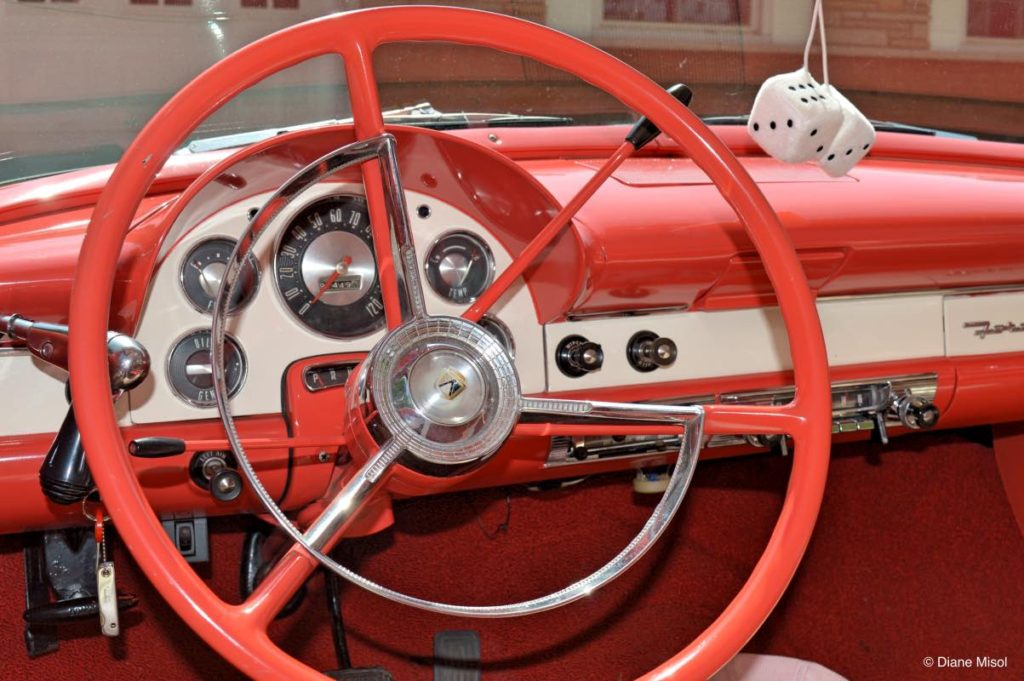 '56 Ford Dashboard, Back in Time Classic Car