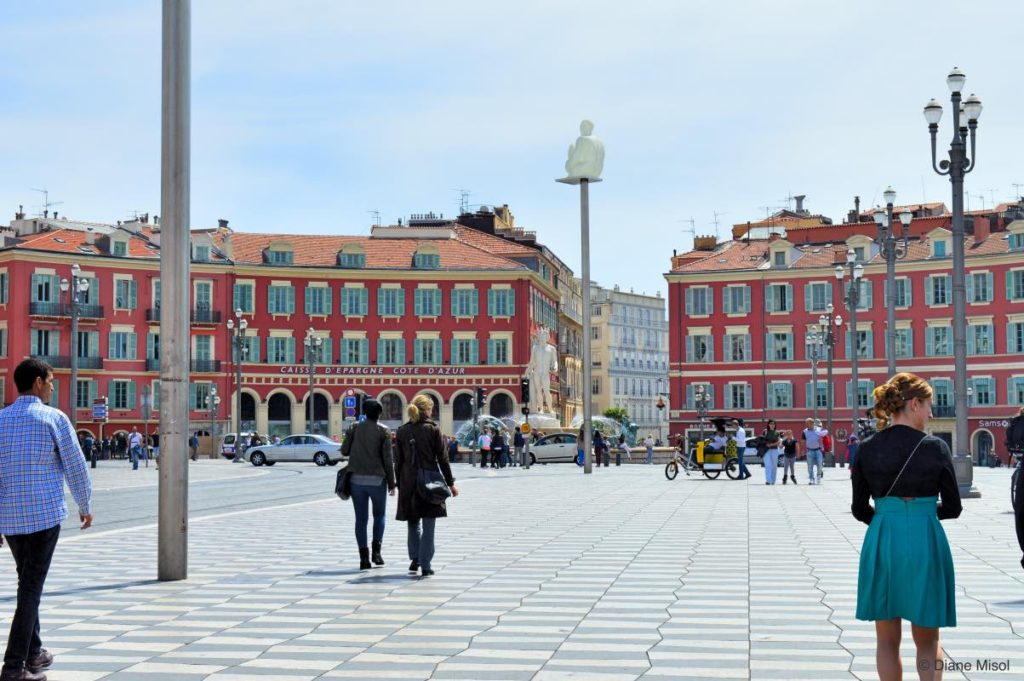 A Calm Massena Square. Nice, France