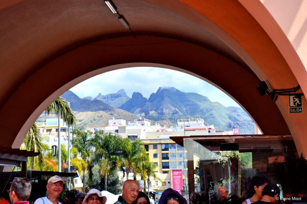 Arch Door View of Tenerife, Canary Islands