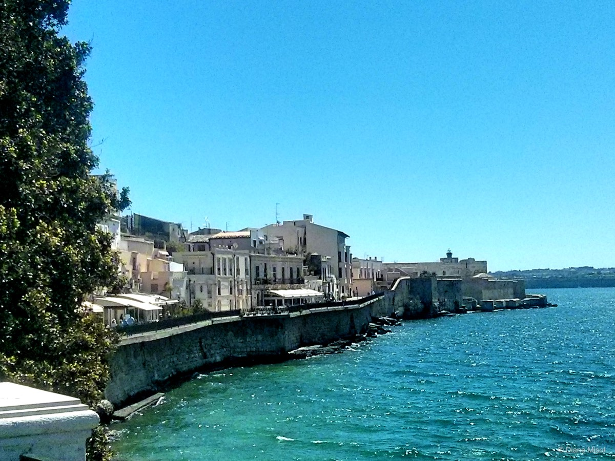 Sparkling Waterfront in Syracuse, Sicily, Italy