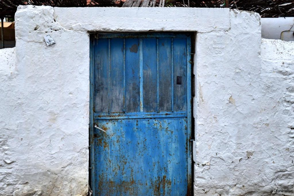 Blue Door. Bodrum, Turkey