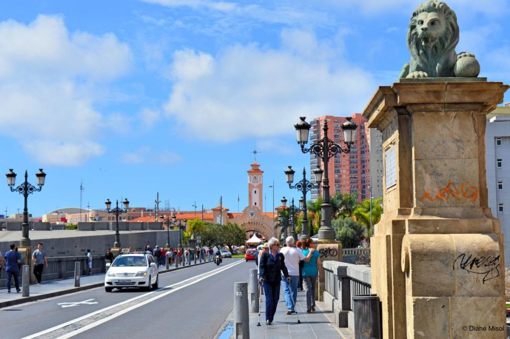 Bridge to Old Town. Tenerife, Spain