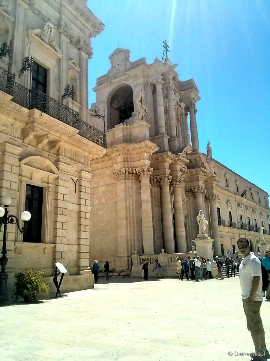Cathedral of Syracuse, Siracusa Sicily, Italy