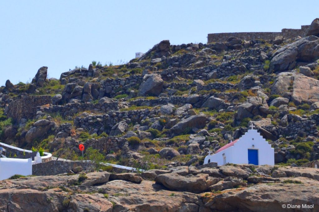 Chapel in the Rocks. Mykonos, Greece