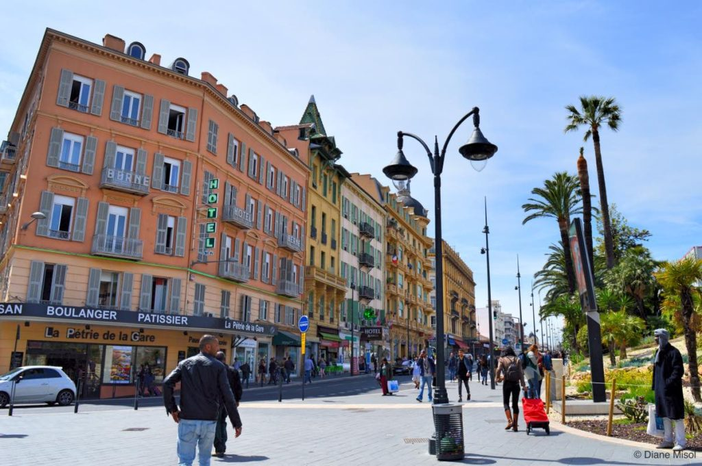 City Scape, Avenue Thiers, Nice, France