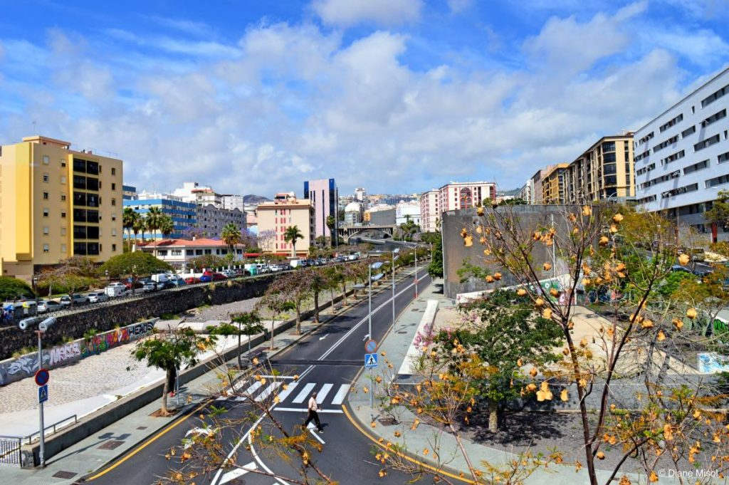 City Scape of Tenerife, Canary Islands