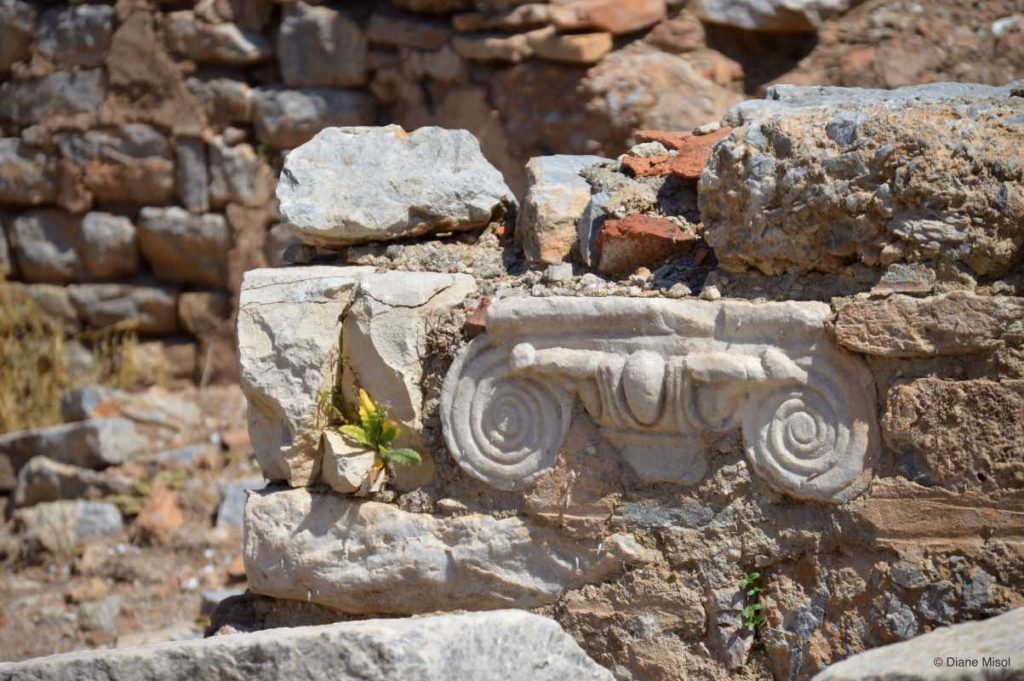 Corinth Architecture, Buried in Ephesus