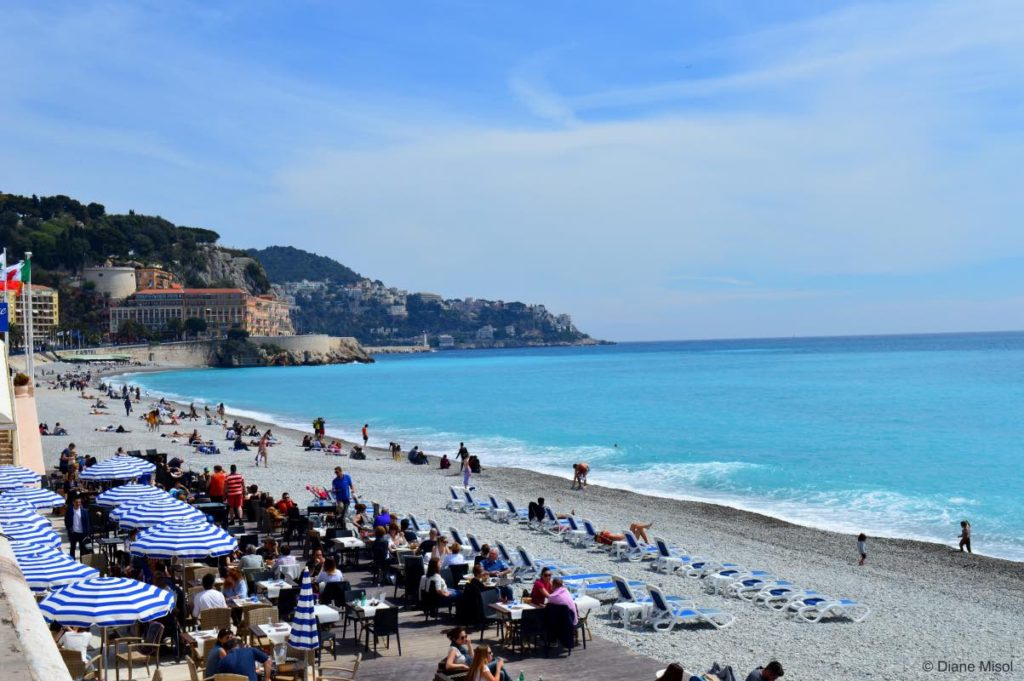 Cote d'Azur Showing Off Her Colours. Nice, France