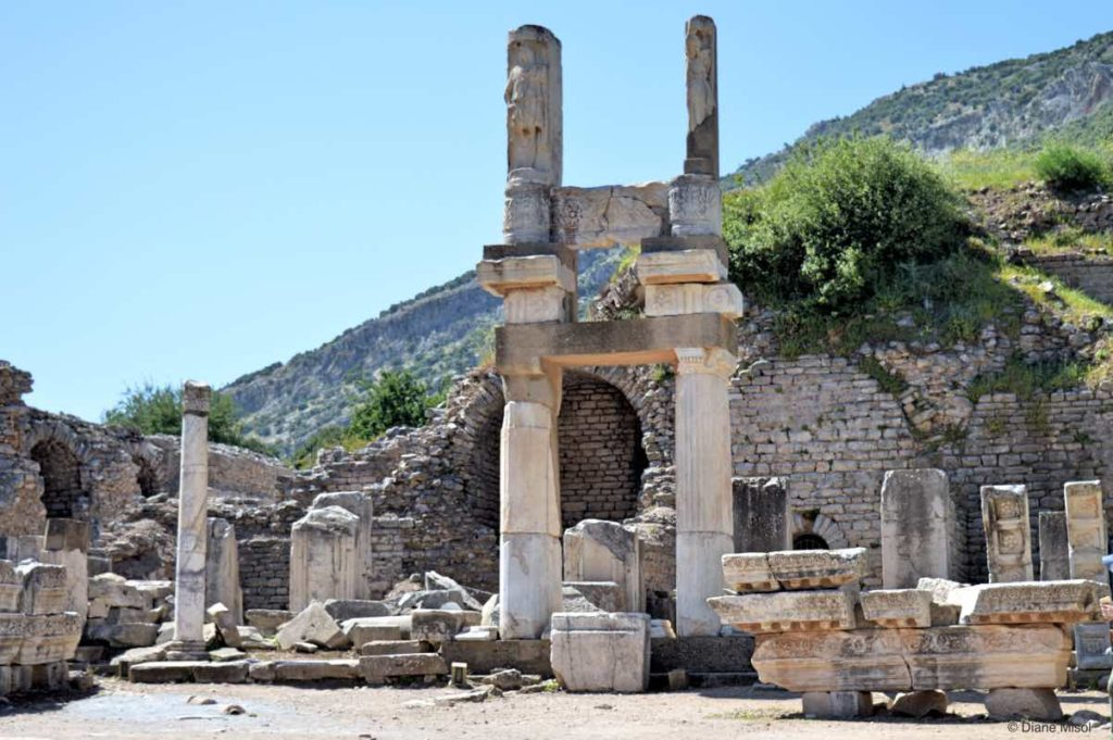 Dometian Temple, Ephesus, Turkey