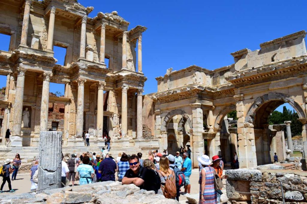Enjoying the History in Ephesus, Turkey