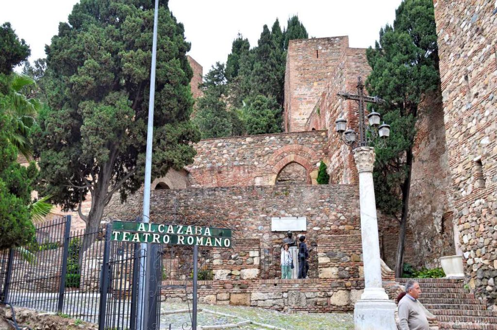 Entrance to the Alcazaba Roman Theatre, Malaga