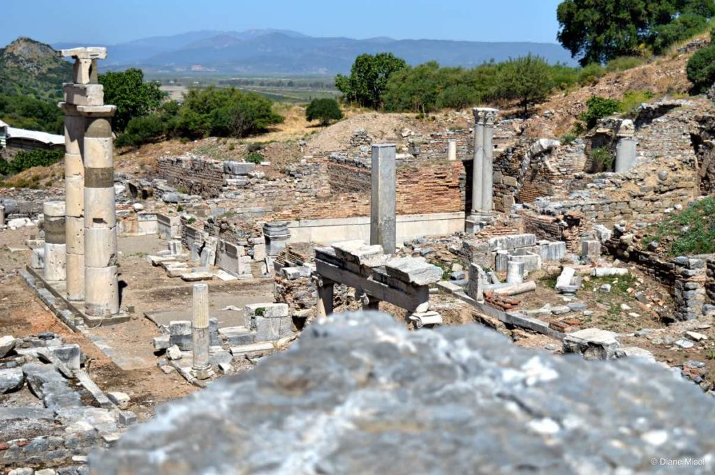 Extensive Views from Ephesus, Turkey