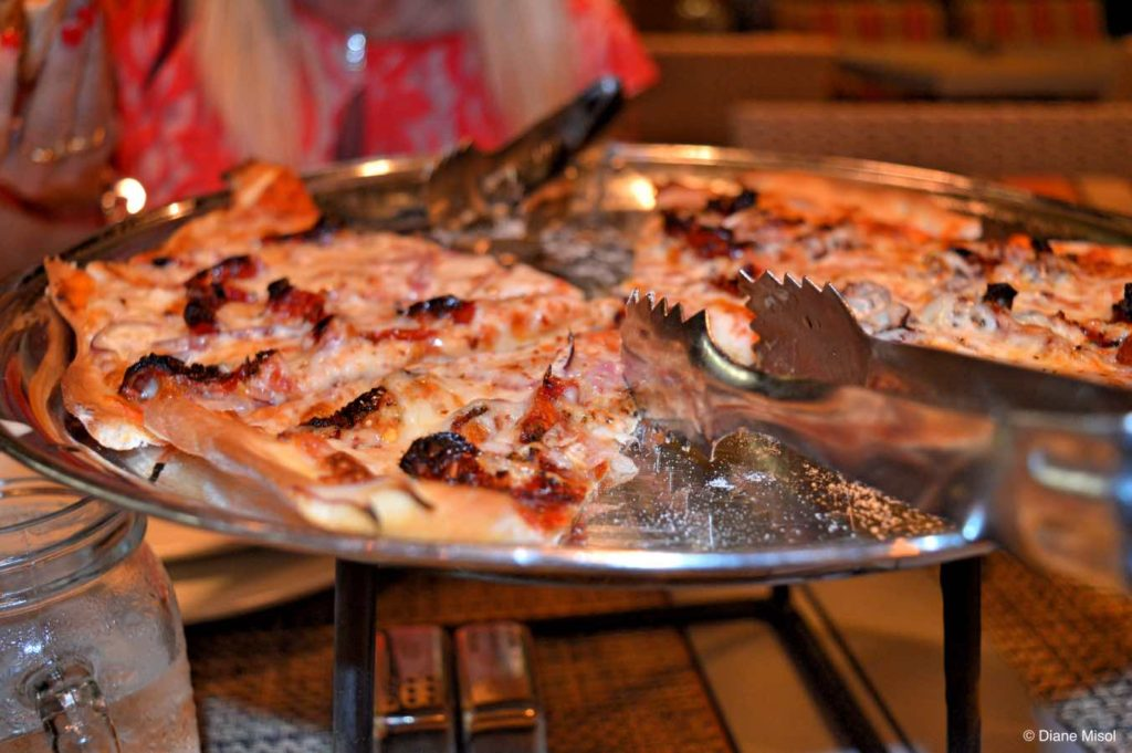 Flatbread, Lawn Club Grill, Celebrity Cruises