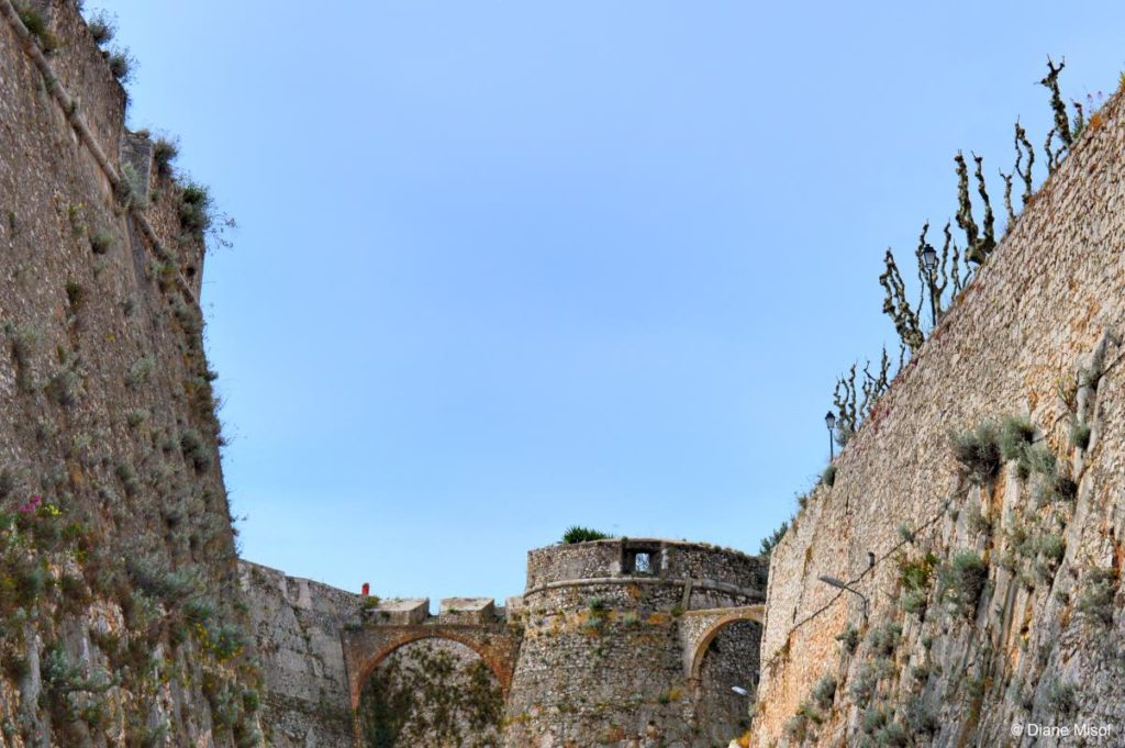Fort Walls of La Citadel. Villefranche, France